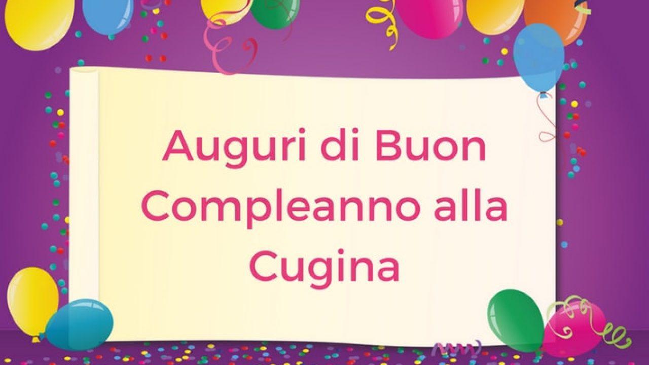 Auguri Di Buon Compleanno Alla Cugina Auguri Buon Compleanno