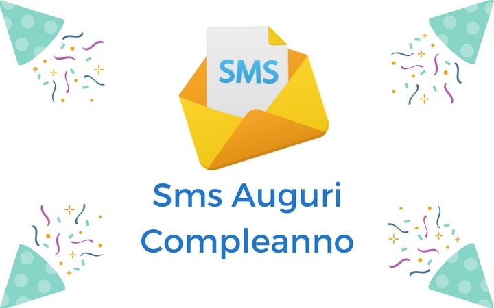 Sms Auguri Compleanno