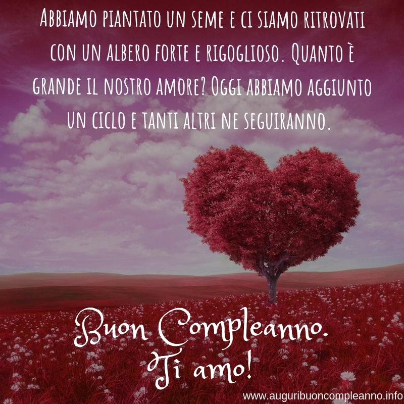 auguri romantici