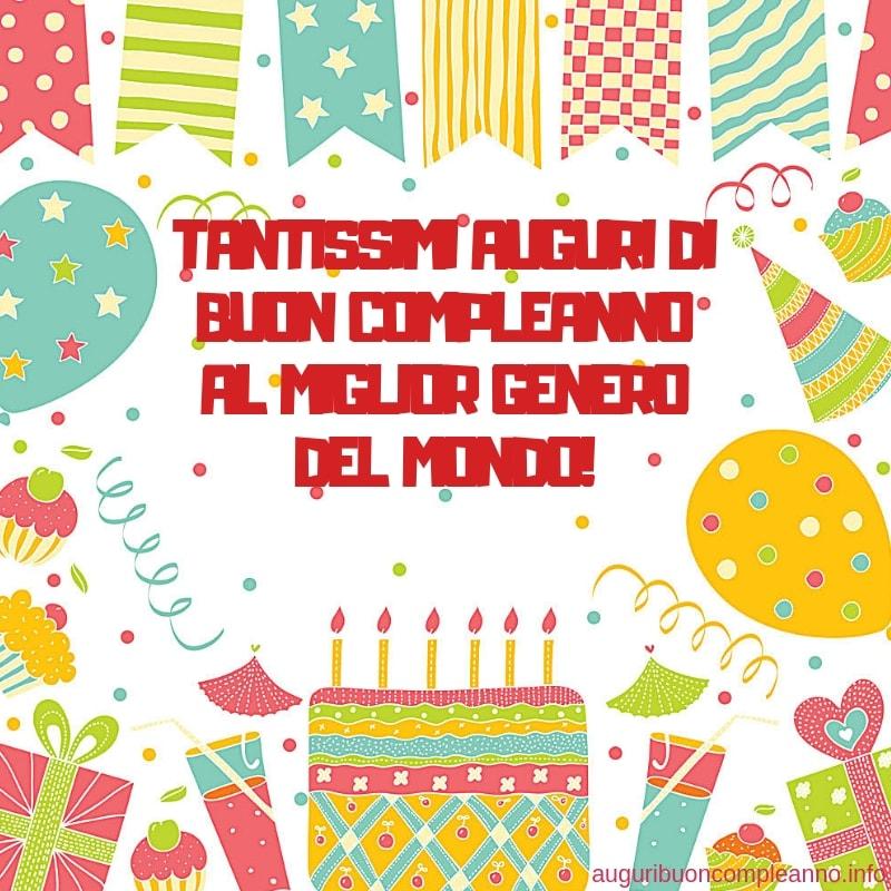 auguri di buon compleanno genero