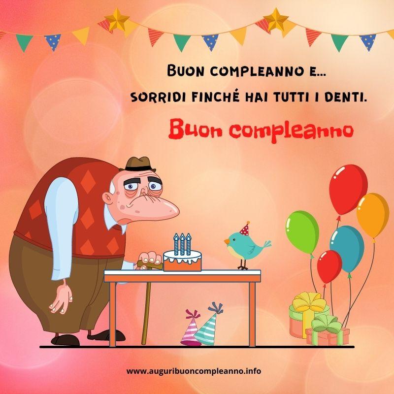 auguri sarcastici di compleanno
